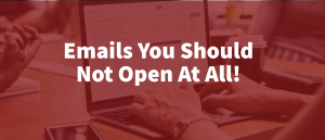 Email You Should Not Open