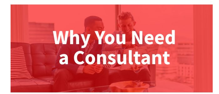 Why you need a consultant